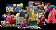 Sims4 Papas y Mamas Render1