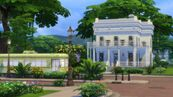 TS4 Wealthy House (white)