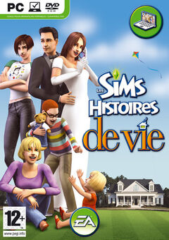Jaquette Les Sims Histoires de vie.jpg