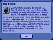 The Finale - Grim Reaper Dialogue 2