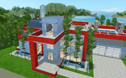 El Palacio Rojo