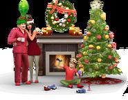 Sims4 Felices Fiestas Render