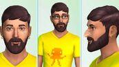 TS4 CAS Yellow Shirt Sim