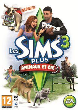Jaquette Les Sims 3 Plus Animaux & Cie.jpg