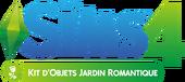 Logo Les Sims 4 Jardin romantique