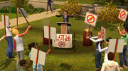 UL Sims protest