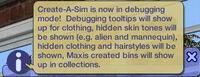 CAS - Mode Debug (Les Sims 2).jpg