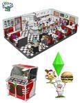 Les Sims 2 Nuits de Folie Concept art 1