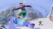 Sims 4 Escapada en la Nieve 1