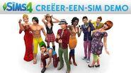 De Sims 4 Creëer-een-Sim Demo Officiële Gameplay trailer