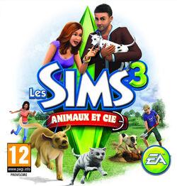 Jaquette console Les Sims 3 Animaux & Cie.jpg