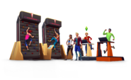 The Sims 4 Fitness Stuff Render 02