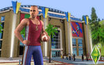Les Sims 3 Fond d'écran Sports 1680x1050