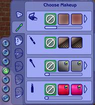 CAS - Maquillage, pilosité et lunettes (Les Sims 2).png