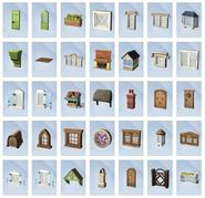 Sims 4 Vida en el Pueblo Objetos 1