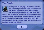 The Finale - Grim Reaper Dialogue