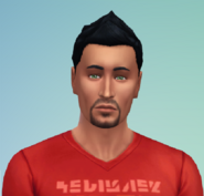 Don Lothario in The Sims 4