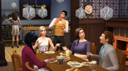 TS4 Get Together dining out