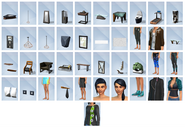 The Sims 4 - Fitness Stuff (Items 1)
