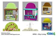 Sims 4 Urbanitas Arte Conceptual 20