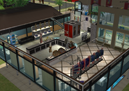 Amar's Clothing and Instruments second floor isometric 4