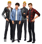 Les Sims 4 Render The Vamps