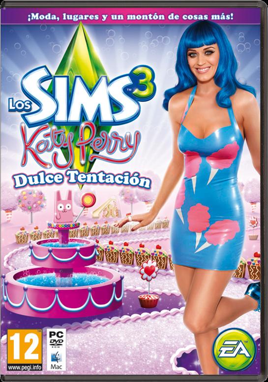 Los Sims 3: Katy Perry Dulce Tentación - Accesorios