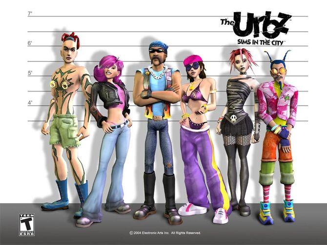 Los Urbz: Sims en la ciudad