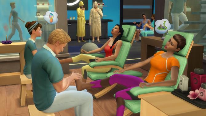 Los Sims 4: Día de Spa