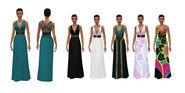 Sims 4 Noche de Cine Arte Conceptual 3