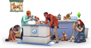 The Sims 4 Cats & Dogs Render 11