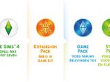 Lijst van De Sims spellen