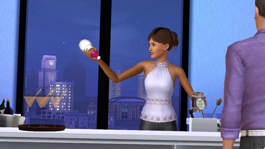 Смешивание напитков (The Sims 3)