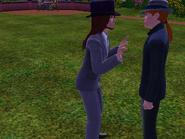 Gunter talking with a CAS