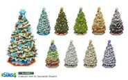 Sims 4 Y las 4 Estaciones Arte Conceptual 2