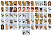 Sims4 Perros y Gatos CAS2