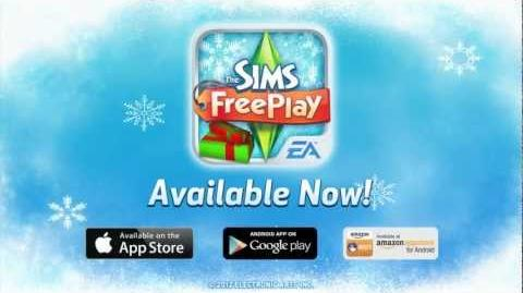 The Sims FreePlay Holiday Update AVAILABLE NOW!