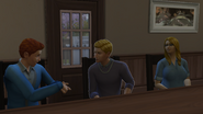 James Lectures Jared to Focus on School