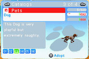 The Sims 2 Pets GBA Screenshot 04
