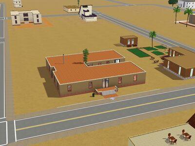 """Residencia """"Comunidad del cañón"""" hecho por Luis Simspedia"""