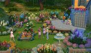 Sims4 Jardin Romantico 1
