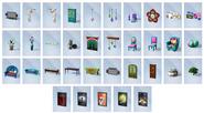 Sims4 Noche Cine Objetos