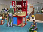Abren negocios - Estación de creación de juguetes