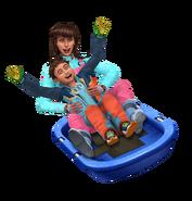 Sims 4 Escapada en la Nieve Render 5