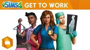 The Sims 4 Get to Work Official Announce Trailer