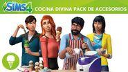 Los Sims 4 Cocina Divina Pack de Accesorios tráiler oficial