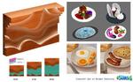 Sims 4 Escapada Gourmet Arte Conceptual 1