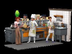 Au Restaurant - render 02