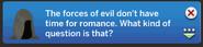 Grimreaper sims4 ask if single response 1