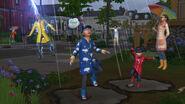 Los Sims 4 y las Cuatro Estaciones, Chapoteo